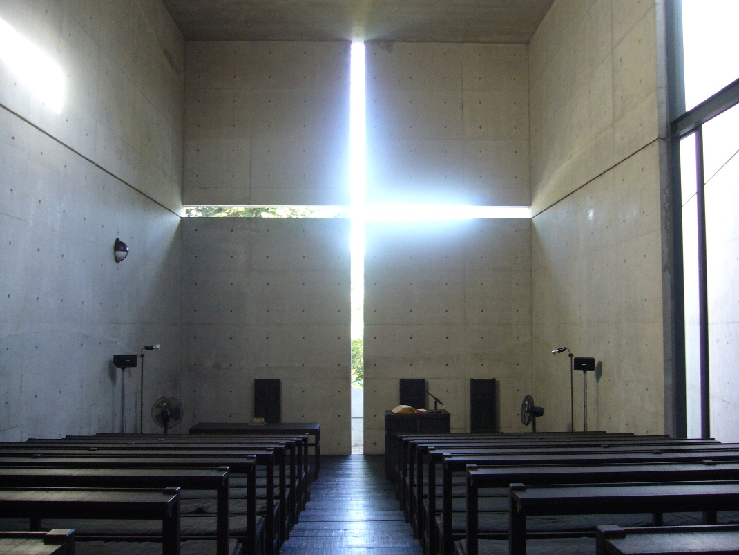 Ibaraki_Kasugaoka_Church_light_cross